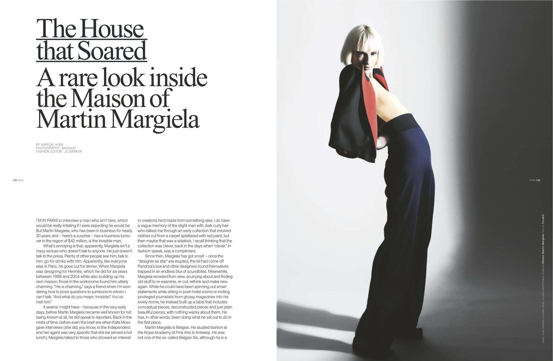 MA Fashion Journalism - London College of Fashion - UAL 100
