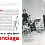 The Man Who Drew Balenciaga.