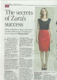 db33ee8bdaf The Secrets of Zara s Success - The Daily Telegraph - Marion Hume