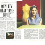 Quality that time builtA1