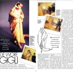 The bride wore Gigli