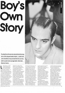 Galliano.fashion weekly June 19871